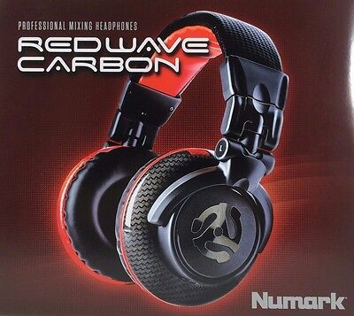 Numark - Redwave - Carbon High-quality Full-range Professional Mixing Headphones
