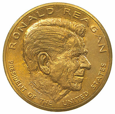 Medal, Ronald Reagan, President Of The United States, Usa, Yosemite