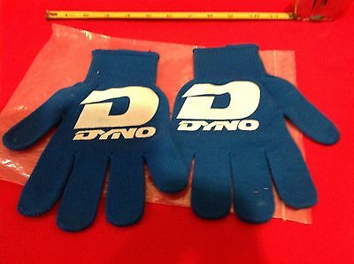 vintage 1980's DYNO BMX Adhesive GLOVES Racing Riding BIKE GT NEW NOS small-med.
