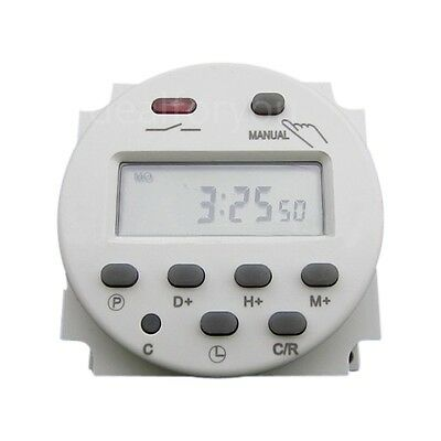 CN101 AC 110V 16A Digital LCD Power Programmable Timer Time Relay Switch Clock