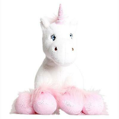 """WHITE UNICORN WITH SPARKLY HOOVES STUFF-A-BEAR NO SEW MAKING KIT BEAR 16"""" (40cm)"""