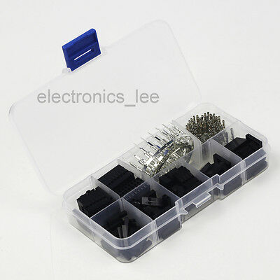 310pcs Dupont Wire Jumper Pin Header Housing Connector Male Female Crimp + Box