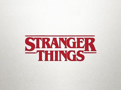 Stranger Things TV show Vinyl Sticker Made in Australia