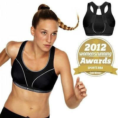 Award Winning New Dry Action System Shock Absorber Ultimate Run Sports Bra 34Dd