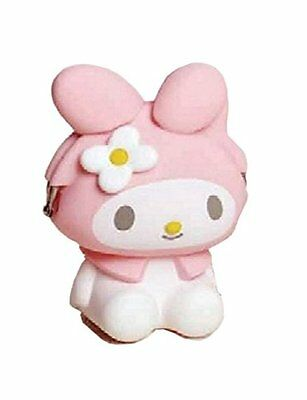 BRAND NEW 3D POCHI Friends My melody Coin case Purse Gamaguchi