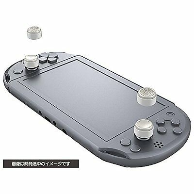 NEW CYBER analog stick cover HIGH type (for PS Vita)?White