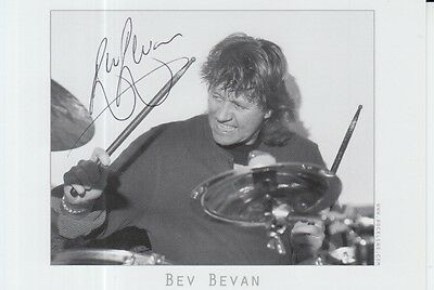 Bev Bevan Hand Signed 6X4 Photo The Move, Elo 2.