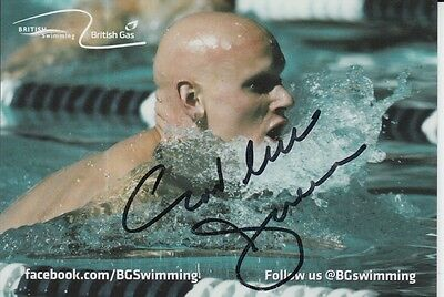 Duncan Goodhew Hand Signed Great Britain Olympics 6X4 Photo 1.