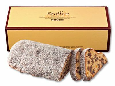 Royce' Lloyds Stollen Moist And Flavorful Tasty Cake With Nuts Dried fruite c93