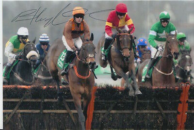 Brian Hughes Hand Signed King Of The Wolds 6X4 Photo.