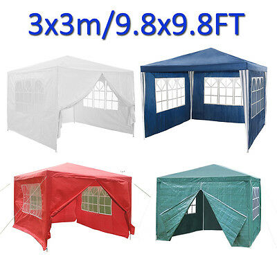 3x3 120g Waterproof Outdoor Cover Garden Gazebo Marquee Canopy Party Tent Patio