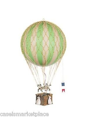 AUTHENTIC MODELS Royal Aero True Green Hanging Hot Air Balloon 32 cm