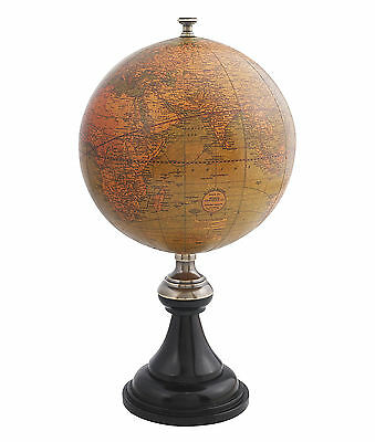 AUTHENTIC MODELS Versailles World Globe Antique Reproduction