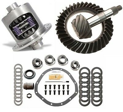 Gm Chevy 12 Bolt - Truck - 3.73 Excel Ring And Pinion - Duragrip Posi - Gear Pkg