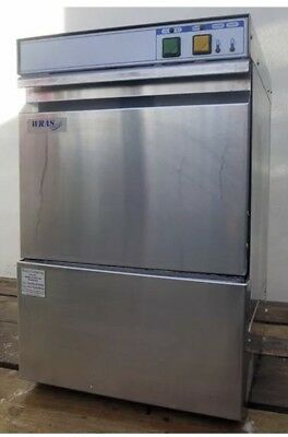 Nelson Commercial  Small Glass Washer/ Bar Restaurant Glass Washer. 350mm Basket