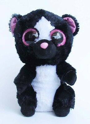 "Toys ty126 6"" TY Beanie Boos Plush Stuffed Animals Flora Skunk 6 Inches"