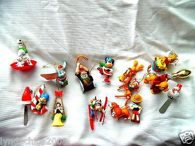 Disney Collectible Christmas Ornaments (Set of 13 & Extras)