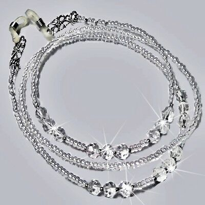 Crystal Sparkles Reading eye glasses spectacle chain lanyard