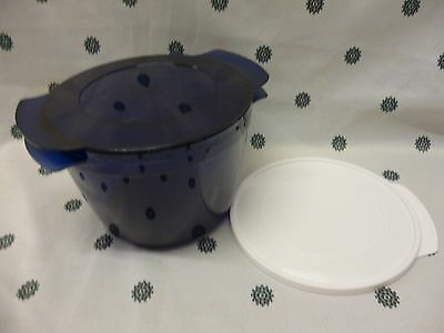 Tupperware 2.25 L Micro cook  Microwave Cooking & Reheating Blue New