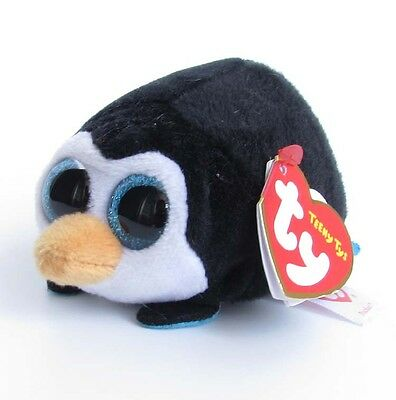 "TY Teeny Tys Pocket Penguin Plush Stuffed Toys SJ106 4"" Beanie Babies Stackable"