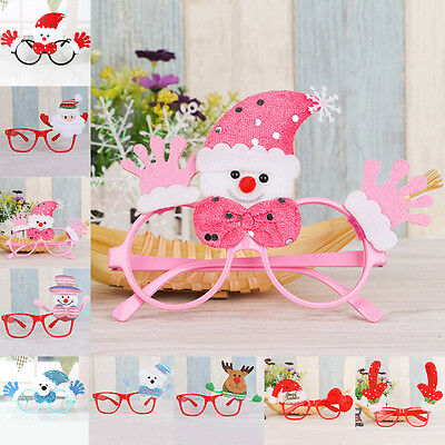 Fashion Xmas Snowman Party Favors Birthday Gifts Christmas Glasses Decoration