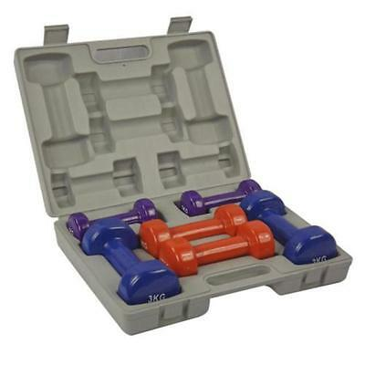 Dumbbell Weights Set 6 Hand 12kg With Free Case