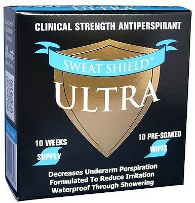 Sweat Shield Ultra Antiperspirant - Clinical Strength - Reduce Sweat Up To 7-...