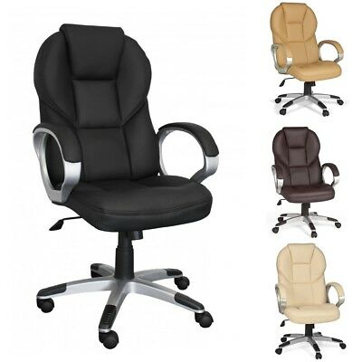Amstyle Executive Office Swivel Desk Chair Imitation Leather New