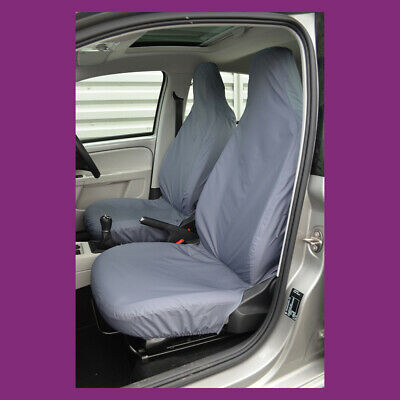 Volkswagen VW UP 2012+ Tailored & Waterproof Front Grey Seat Covers UK MADE