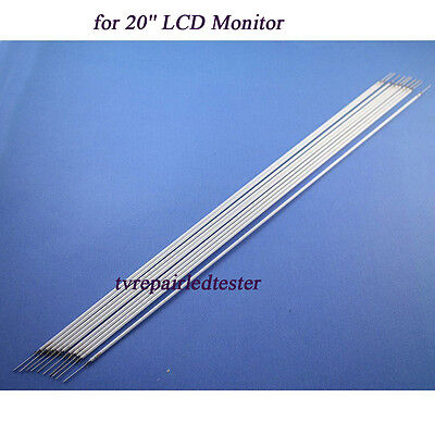 10Pcs 445mm*2.4mm CCFL Backlight Lamps for 20'' LCD Monitor New