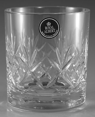 Royal ALBERT Crystal - VICTORIA Cut - Tumbler Glass / Glasses - 3 1/2""