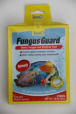 TETRA FUNGUS GUARD ® Remedy treats Bacteria Disease Fast, Freshwater Aquarium