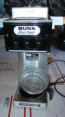 Bunn S Commercial Coffee Brewer Maker Machine 120V Stainless Steel