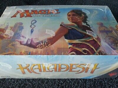 IN-HAND ITALIAN Magic MTG Kaladesh KLD Sealed Booster Box Display the Gathering