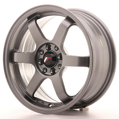 Llanta Japan Racing Jr3 16X7 Et40 4X100/114 Gun Metal