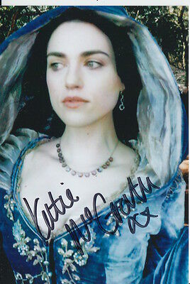 Katie Mcgrath Hand Signed 6X4 Photo Merlin, Morgana Pendragon