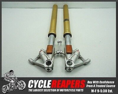 C073 2010 2011 10-11 BMW S1000RR Front Forks Tubes Shocks Legs OEM Free Shipping