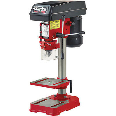 Clarke Cdp5Rb 5 Speed Bench Mounted Pillar Drill Red -New But Damaged Box