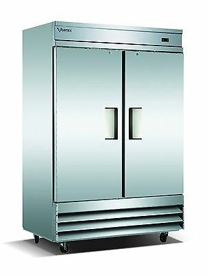 Vortex Refrigeration2 Door Reach-In Freezer V-2F