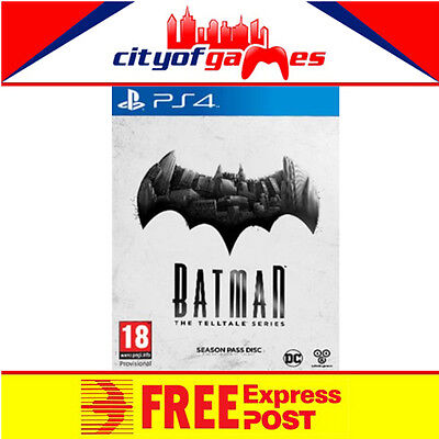 Batman The Telltale Series PS4 New & Sealed In Stock Now