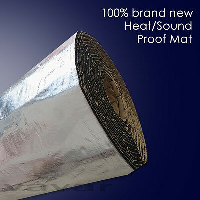 "40""x60""Firewall Sound Deadener Car Heat Shield Insulation Deadening Material Mat"
