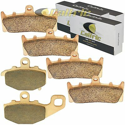 SINTERED FRONT and REAR BRAKE PADS Fits KAWASAKI ZX600 Ninja ZX-6R 1998-02 2005