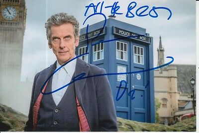 Peter Capaldi Hand Signed Doctor Who 6X4 Photo Dr Who 1.