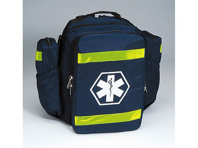 Ultimate O2 Oxygen First Responder Trauma Backpack, Fits C Cylinder - Blue
