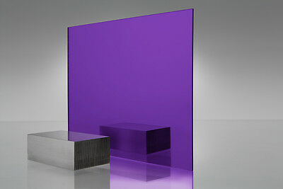 "Acrylic Mirror  #1020 Purple  Plexiglass  24"" X 36"" - 1/8"""