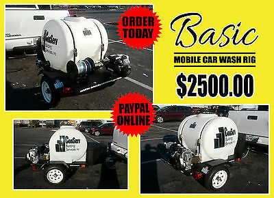 "█ █ █ ""basic"" Mobile Car Wash Trailers"
