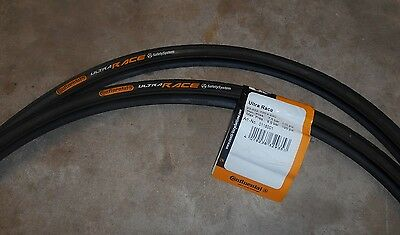 Continental Ultra Race Road Bike Tyres 700 x 23c ( A PAIR )