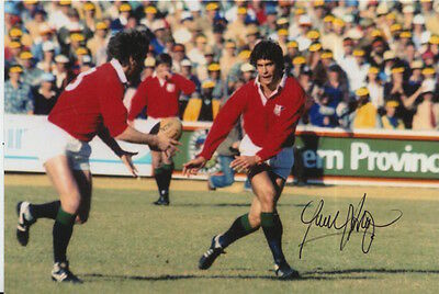 British And Irish Lions Hand Signed Paul Dodge 6X4 Photo Rugby Union.