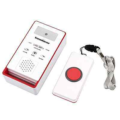Wireless Caregiver One Remote Call Button Personal Pager Nurse Call Alert, New