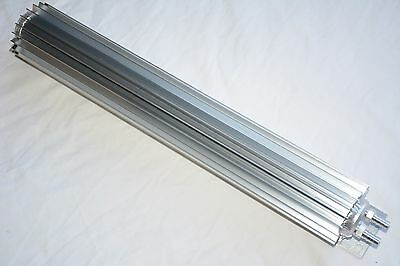 """Transmission Cooler Tube and Finned 30 /"""" inch dual pass design universal aluminu"""
